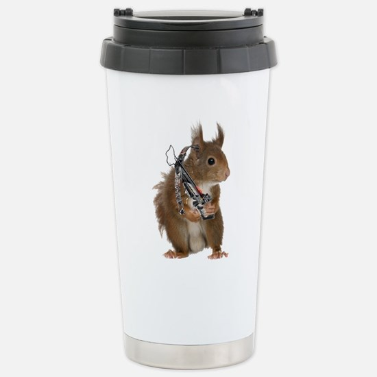 Daryl Squirrel Stainless Steel Travel Mug