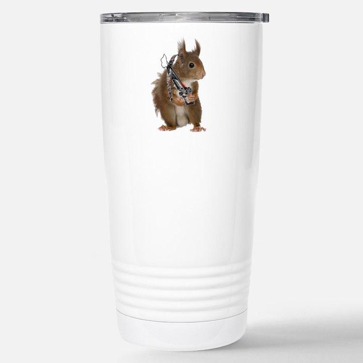 Daryl Squirrel Stainless Steel Travel Mug