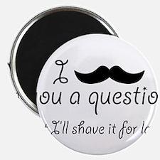 Mustache A Question Magnet