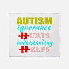 autismigun.png Throw Blanket