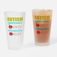 autismigun.png Drinking Glass