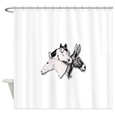 All Three.png Shower Curtain