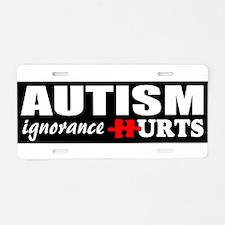 Autism support Aluminum License Plate