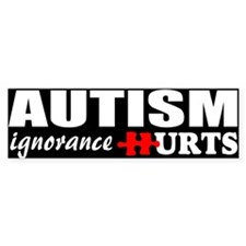 Autism support Bumper Sticker
