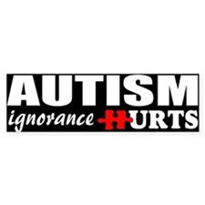 Autism support Car Sticker