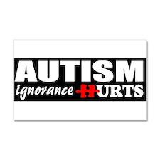 Autism support Car Magnet 20 x 12