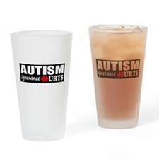 Autism support Drinking Glass
