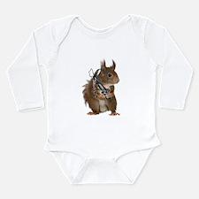 Daryl Squirrel Long Sleeve Infant Bodysuit