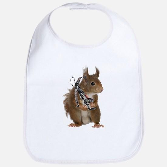 Daryl Squirrel Bib