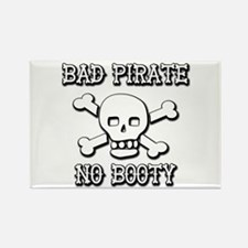 Bad Pirate Rectangle Magnet