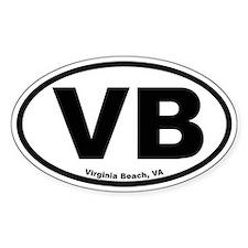 Virginia Beach Oval Decal