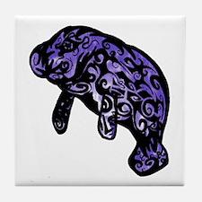A NEWBORN Tile Coaster