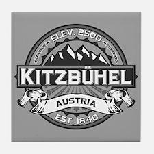 Kitzbühel Grey Tile Coaster