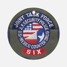 JTF Six Ornament (Round)