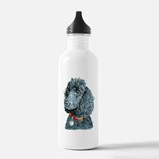 Black Poodle Whitney Water Bottle