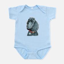 Black Poodle Whitney Infant Bodysuit