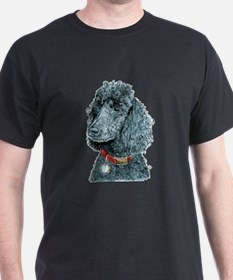Black Poodle Whitney T-Shirt