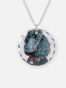 Black Poodle Whitney Necklace