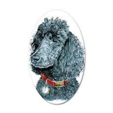 Black Poodle Whitney Wall Decal