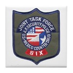 JTF Six Tile Coaster