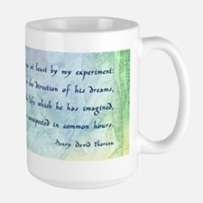 Inspirational Thoreau Quote Mug