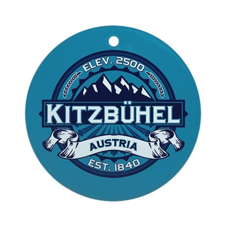 Kitzbühel Ice Ornament (Round)