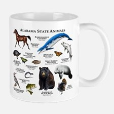 Alabama State Animals Mug