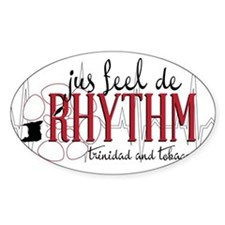 jus feel de RHYTHM Decal