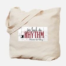 jus feel de RHYTHM Tote Bag
