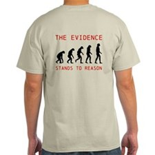 Evolution Stands to Reason T-Shirt