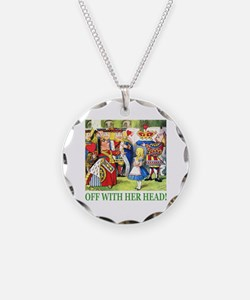 Off With Her Head! Necklace