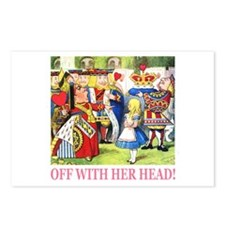 Off With Her Head! Postcards (Package of 8)