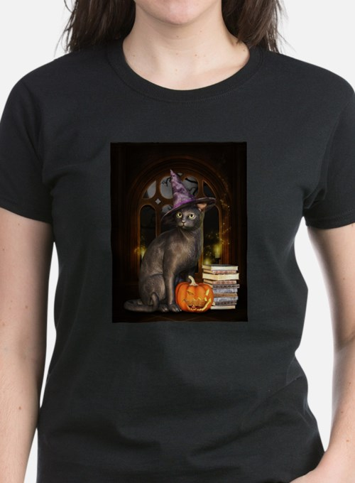 Witch Kitty Cat T-Shirt