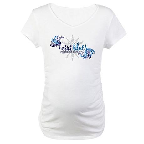 Trini Blues 2025 Maternity T-Shirt