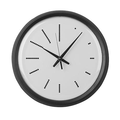 Art Deco Large Wall Clock