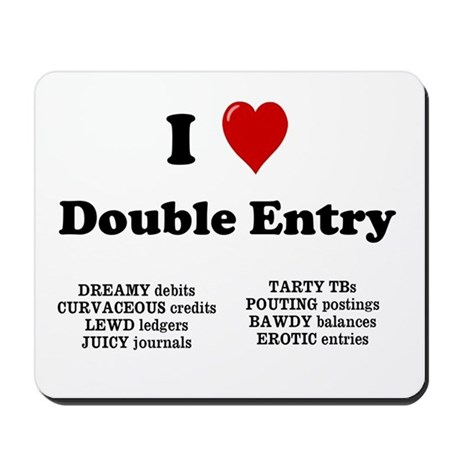 Wedding Gift List Rude : Rude Accountant Gift - Double Entry Mousepad by accountingcelebrity