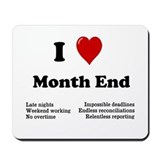 Accounting funny Mouse Pads