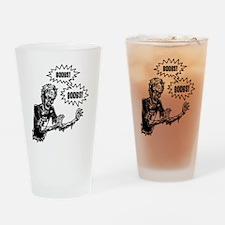 Rude Zombie Drinking Glass
