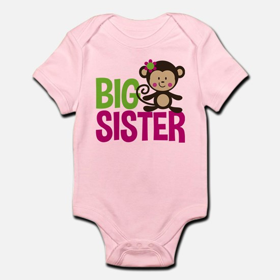 Monkey Big Sister Body Suit