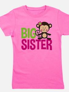 Monkey Big Sister T-Shirt