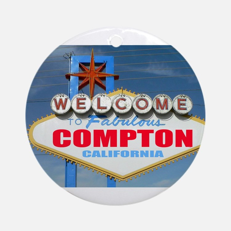 compton.png Ornament (Round)