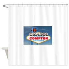 compton.png Shower Curtain