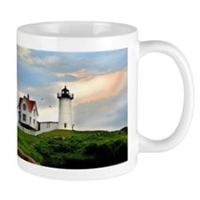 Nubble Lighthouse Mugs