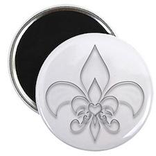 """Fleur de lis 2.25"""" Magnet (10 pack)"""