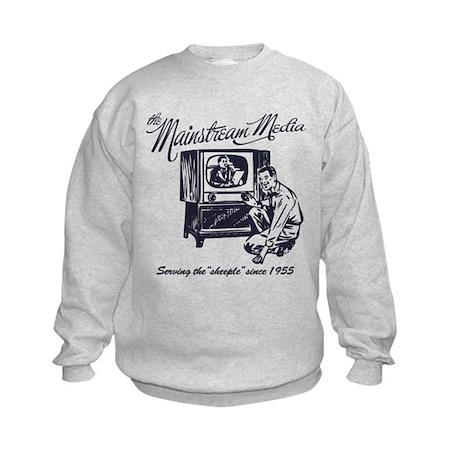 The Mainstream Media Kids Sweatshirt