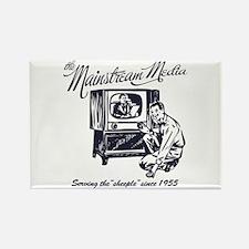 The Mainstream Media Rectangle Magnet (100 pack)