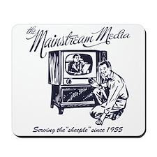 The Mainstream Media Mousepad