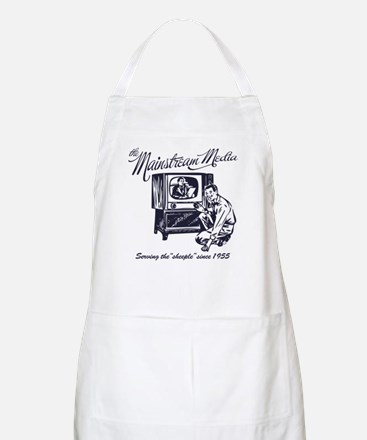 The Mainstream Media BBQ Apron