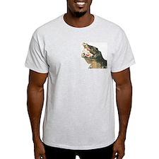 Crocodile Ash Grey T-Shirt