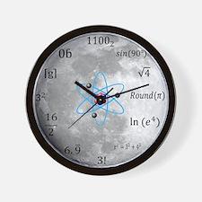 Sheldon Cooper Moon Maths Wall Clock